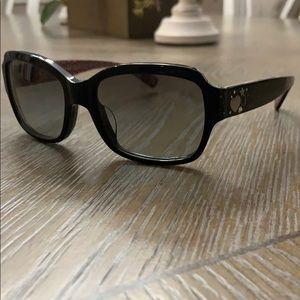 COACH embellished sunglasses
